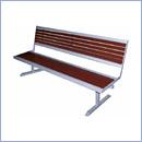 Ławka L44N ławki ze stali nierdzewnej ławki miejskie ławki parkowe nierdzewne meble miejskie