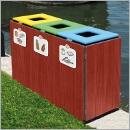 Pojemnik PW083 pojemniki do segregacji odpadów wewnątrz kosze do segregacji śmieci segregacja odpadów