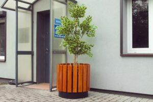 Donica DM21 donice miejskie mebel miejski mała architektura miejska