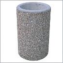 Kosz betonowy KT71 kosze betonowe kosze parkowe kosze miejskie meble miejskie