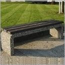 Ławka betonowa LB071 ławki parkowe ławki miejskie meble miejskie ławki betonowe mała architektura miejska