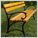 Ławka L002 ławki parkowe ławki miejskie meble miejskie mała architektura miejska