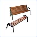 Ławka L022, L022B ławki parkowe ławki miejskie meble miejskie mała architektura miejska