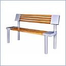 Ławka L49 ławki parkowe ławki miejskie meble miejskie mała architektura miejska