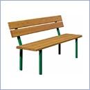 Ławka L52 ławki parkowe ławki miejskie meble miejskie mała architektura miejska