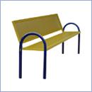 Ławka L57 ławki parkowe ławki miejskie meble miejskie mała architektura miejska