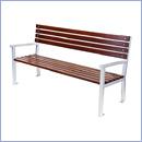 Ławka L065 ławki parkowe ławki miejskie meble miejskie mała architektura miejska