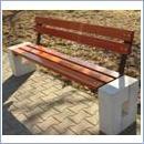 Ławka betonowa LB61 ławki parkowe ławki miejskie meble miejskie ławki betonowe mała architektura miejska