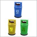 Pojemnik PZ014 pojemniki do segregacji odpadów zewnątrz kosze do segregacji śmieci segregacja odpadów