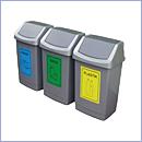 Pojemnik PW014 pojemniki do segregacji odpadów wewnątrz kosze do segregacji śmieci segregacja odpadów