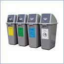 Pojemnik PW020 pojemniki do segregacji odpadów wewnątrz kosze do segregacji śmieci segregacja odpadów