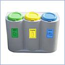Pojemnik PW021 pojemniki do segregacji odpadów wewnątrz kosze do segregacji śmieci segregacja odpadów