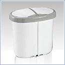 Pojemnik PW046 pojemniki do segregacji odpadów wewnątrz kosze do segregacji śmieci segregacja odpadów