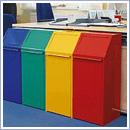 Pojemnik PW079 pojemniki do segregacji odpadów wewnątrz kosze do segregacji śmieci segregacja odpadów