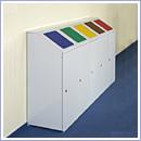Pojemnik PW080 pojemniki do segregacji odpadów wewnątrz kosze do segregacji śmieci segregacja odpadów