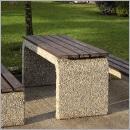 Stół betonowy SB071 ławki parkowe ławki miejskie meble miejskie ławki betonowe mała architektura miejska