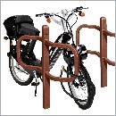Stojak rowerowy SR33 stojaki rowerowe meble miejskie mała architektura miejska
