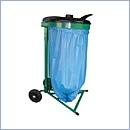 Stojak SW001/K pojemniki do segregacji stojaki na worki segregacja odpadów