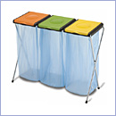 Stojak SW097/3 pojemniki do segregacji stojaki na worki segregacja odpadów
