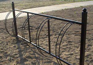 Stojak rowerowy SR03/5 (SR03/10) stojaki rowerowe meble miejskie mała architektura miejska