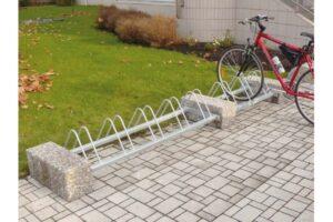 Stojak rowerowy SR72B stojaki rowerowe meble miejskie mała architektura miejska 1