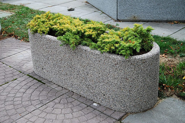 Donica betonowa DB14 donice betonowe mebel miejski mała architektura miejska-2
