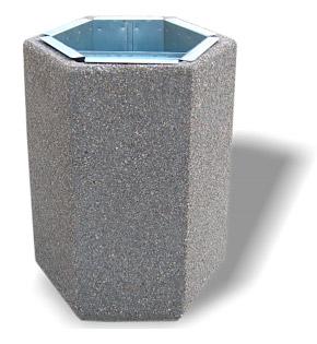 Kosz betonowy KT15