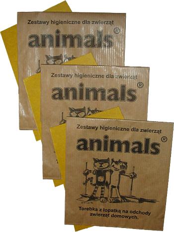 Torebki na psie odchody Animals sprzątanie po psach kosze na psie odchody stacje na psie kupy dystrybutory woreczki-2