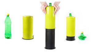 Zgniatarka do butelek i puszek stojąca segregacja odpadów-6