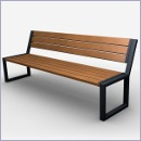 Ławka L083 ławki parkowe ławki miejskie meble miejskie mała architektura miejska