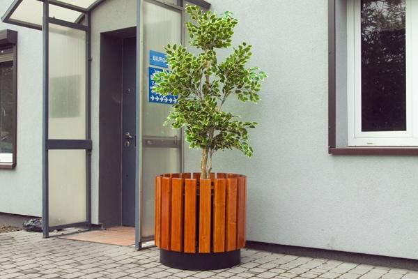Donica DM21 donice miejskie mebel miejski mala architektura miejska