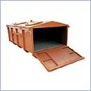 Kontener ekologiczny PN025 eco pojemniki na odpady niebezpieczne