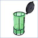 Stojak SW033 pojemniki do segregacji stojaki na worki segregacja odpadów