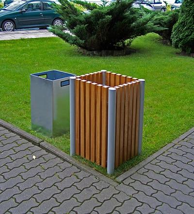 Kosz KU19 kosze parkowe kosze miejskie meble miejskie-2