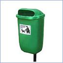 Kosz Kora sprzątanie po psach kosze na psie odchody i kupy