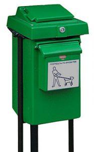 Kosz SABA sprzątanie po psach kosz na psią kupę kosze na psie odchody