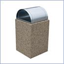 Kosz betonowy KT34 kosze betonowe kosze parkowe kosze miejskie meble miejskie