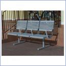 Ławka L040P ławki parkowe ławki miejskie meble miejskie mała architektura miejska