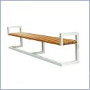 Ławka L055 ławki parkowe ławki miejskie meble miejskie mała architektura miejska
