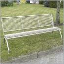 Ławka L060N ławki ze stali nierdzewnej ławki miejskie ławki parkowe nierdzewne meble miejskie
