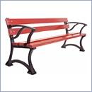 Ławka L001P ławki parkowe ławki miejskie meble miejskie mała architektura miejska