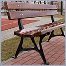 Ławka L007 ławki parkowe ławki miejskie meble miejskie mała architektura miejska