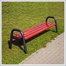 Ławka L016B ławki parkowe ławki miejskie meble miejskie mała architektura miejska