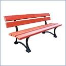 Ławka L26 ławki parkowe ławki miejskie meble miejskie mała architektura miejska