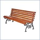 Ławka L061 ławki parkowe ławki miejskie meble miejskie mała architektura miejska