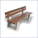 Ławka betonowa LB017 ławki parkowe ławki miejskie meble miejskie ławki betonowe mała architektura miejska