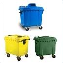 Pojemnik PZ18 pojemniki do segregacji odpadów zewnątrz kosze do segregacji śmieci segregacja odpadów