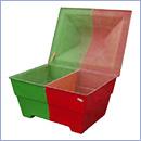 Pojemnik PN015 pojemniki na sorbent pojemniki na odpady niebezpieczne