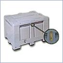 Pojemnik PN016 pojemniki na akumulatory pojemniki na odpady niebezpieczne