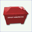 Pojemnik PN018 pojemniki na odpady niebezpieczne